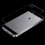 Заднее защитное стекло для iPhone 5, 5s, SE